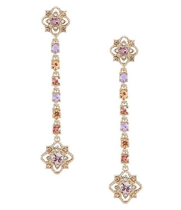 マルケッサ レディース ピアス・イヤリング アクセサリー Purple Cluster Linear Earrings Purple