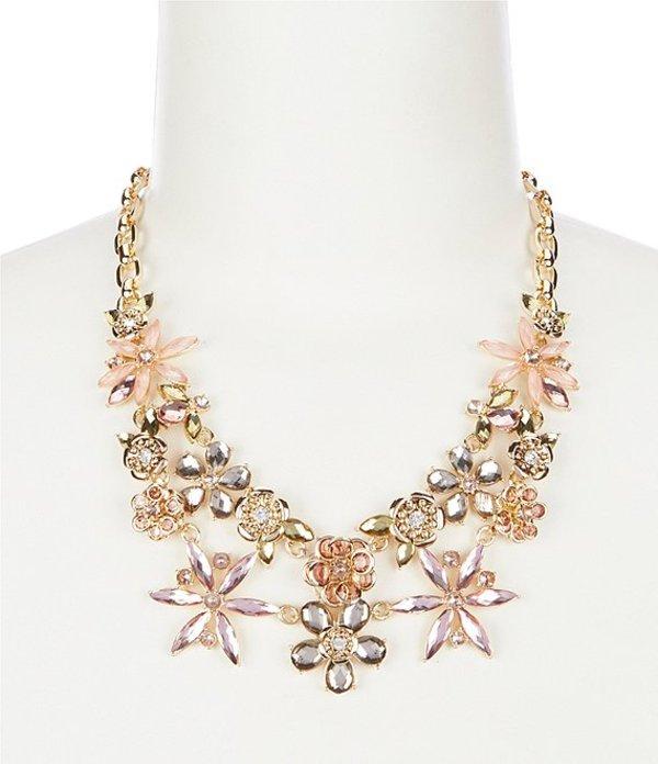 アンクライン レディース ネックレス・チョーカー アクセサリー Flower Stone Collar Necklace Blush