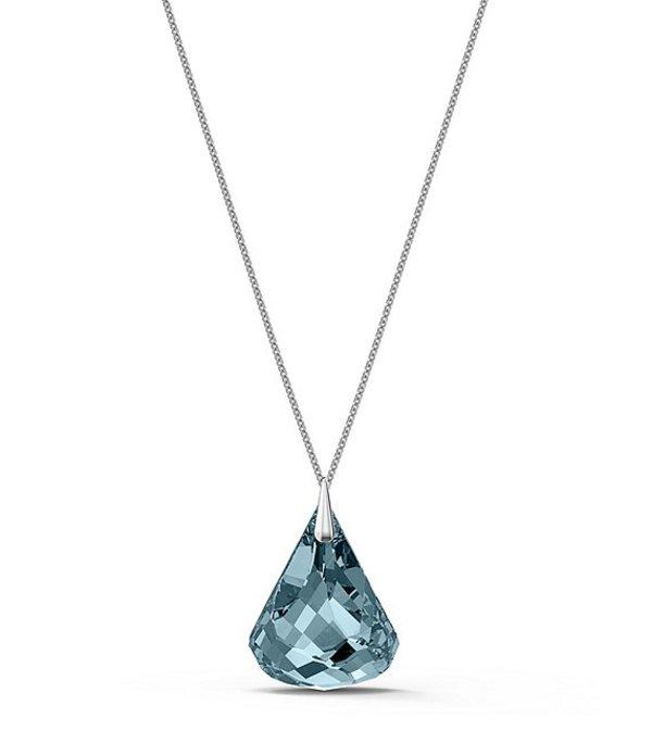 スワロフスキー レディース ネックレス・チョーカー アクセサリー Spirit Long Pendant Necklace Blue