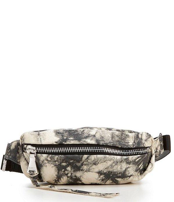 エイミー ケステンバーグ レディース ショルダーバッグ バッグ Milan Zip Genuine Leather Belt Bag Vanilla Tie Dye