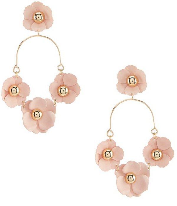 アンナ&アヴァ レディース ピアス・イヤリング アクセサリー Triple Flower Earrings Pink