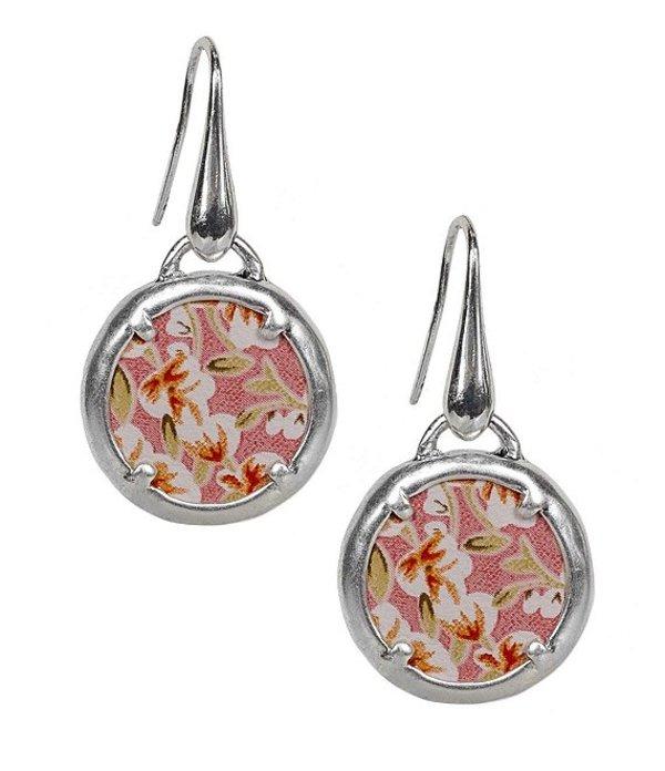 パトリシアナシュ レディース ピアス・イヤリング アクセサリー The Elena Leather Charm Earrings Pink