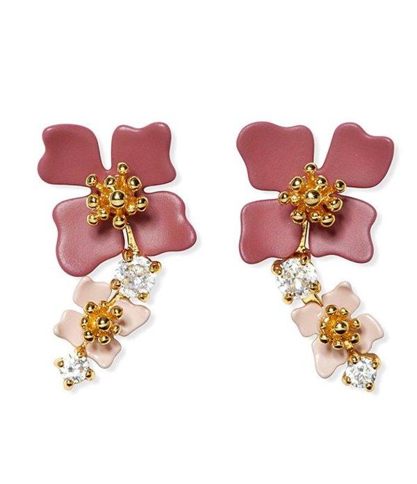 ヴィンスカムート レディース ピアス・イヤリング アクセサリー Tapered Flower Stud Earrings Pink