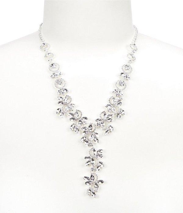 セザンヌ レディース ネックレス・チョーカー アクセサリー Crystal Ivy Statement Necklace Silver