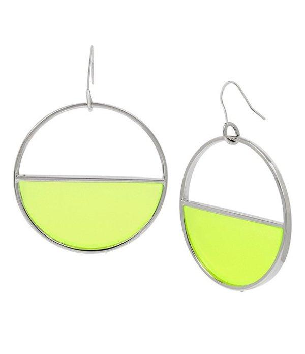 ケネスコール レディース ピアス・イヤリング アクセサリー Geometric Drop Earrings Yellow