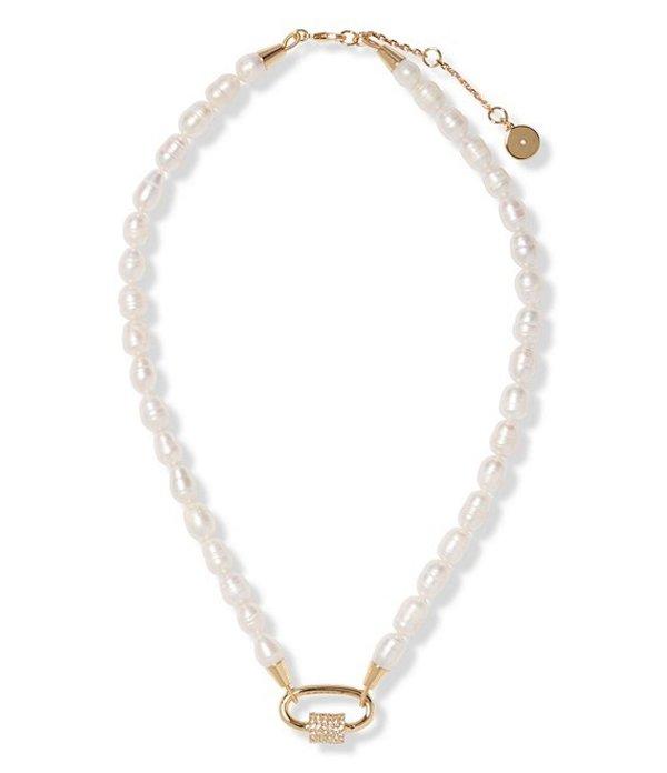 ヴィンスカムート レディース ネックレス・チョーカー アクセサリー Pearl Collar Necklace Gold