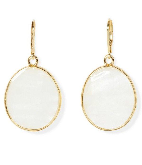 ヴィンスカムート レディース ピアス・イヤリング アクセサリー Lever Drop Earrings Gold