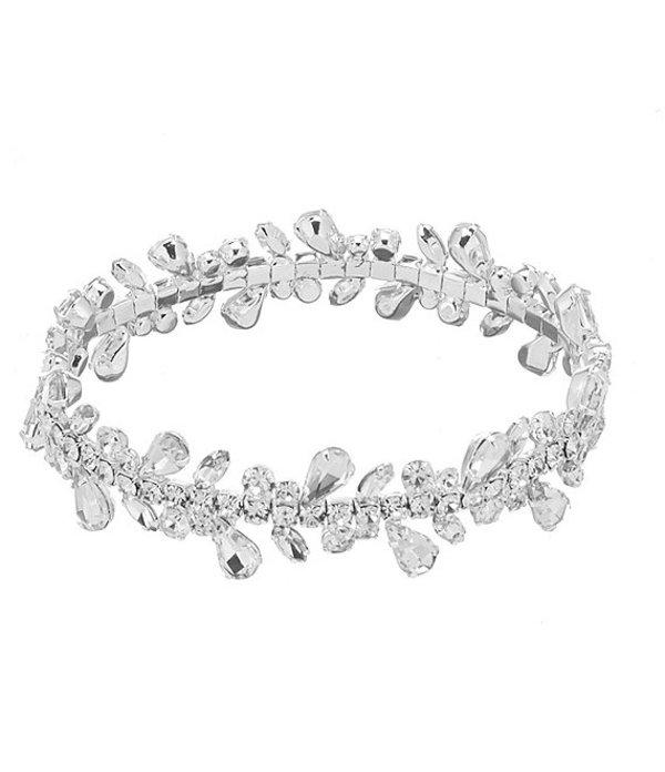 セザンヌ レディース ブレスレット・バングル・アンクレット アクセサリー Fringe Stretch Bracelet Silver