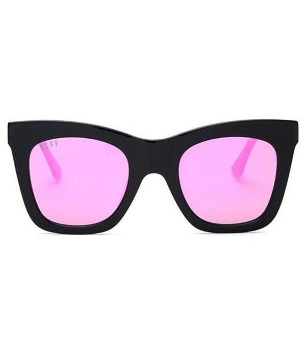 ディフアイウェア レディース サングラス・アイウェア アクセサリー Kaia Cat Eye 58mm Sunglasses Black