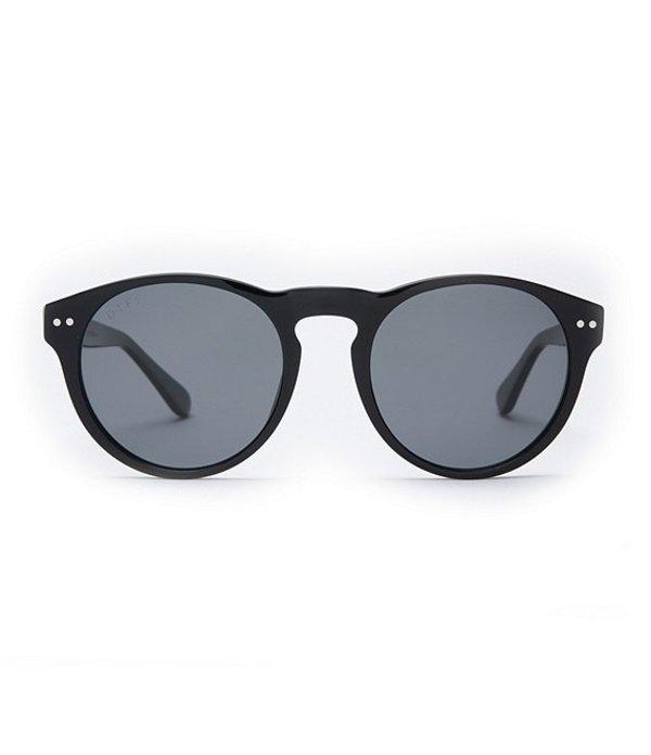 ディフアイウェア レディース サングラス・アイウェア アクセサリー Cody Round Sunglasses Black Grey