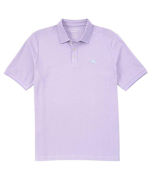 トッミーバハマ レディース シャツ トップス Big & Tall IslandZone Emfielder 2.0 Short-Sleeve Polo Shirt Violet Tulip