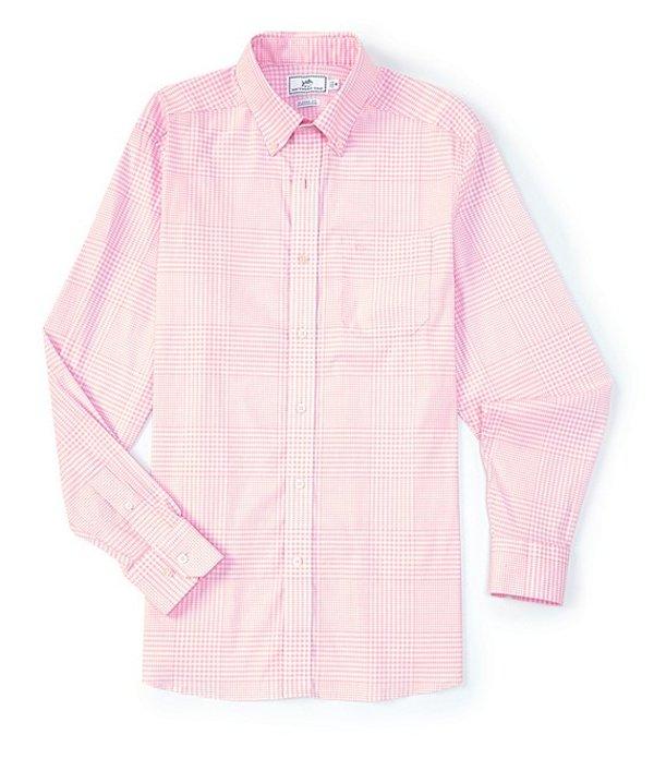 サウザーンタイド レディース シャツ トップス Onshore Variegated Gingham Long-Sleeve Woven Shirt Fresco Pink