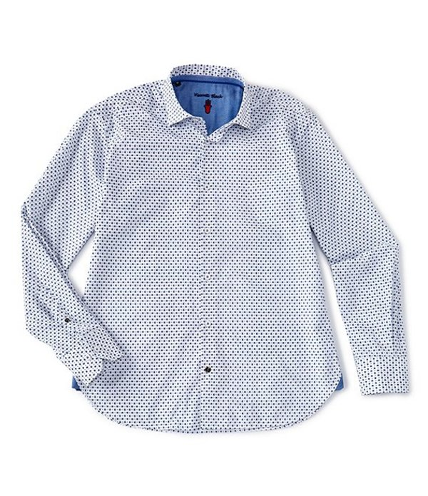 ビスコッティ レディース シャツ トップス Small Paisley Print Long-Sleeve Woven Shirt White