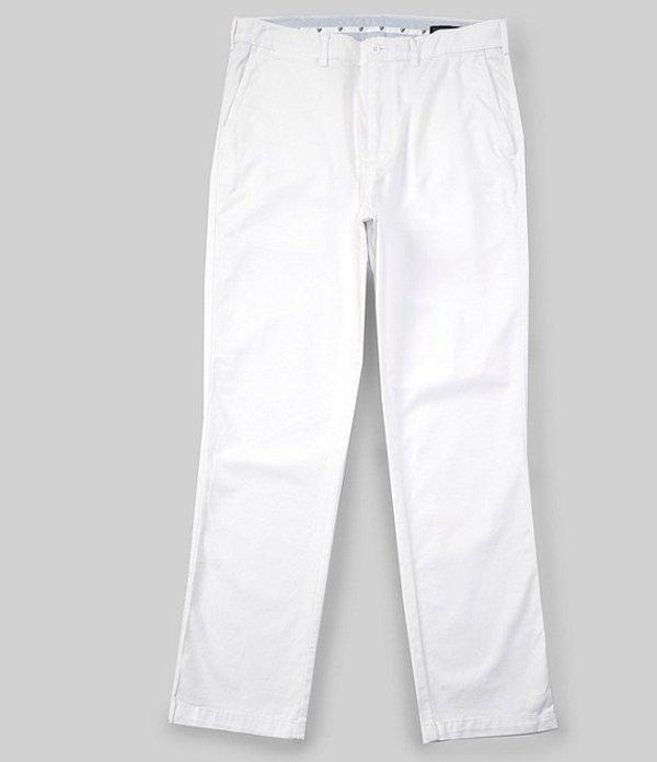 ダニエル クレミュ レディース カジュアルパンツ ボトムス Madison Flat-Front Comfort Stretch Twill Chino Pants White