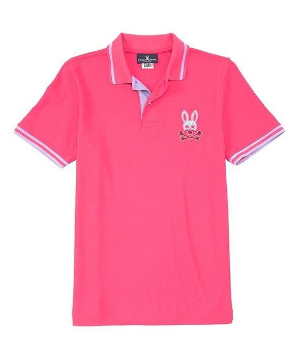 サイコバニー レディース シャツ トップス Tynemouth Short-Sleeve Polo Shirt Punch