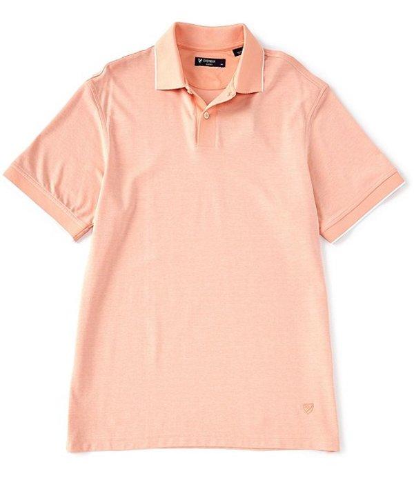 ダニエル クレミュ レディース シャツ トップス Solid Short-Sleeve Polo Shirt Coral