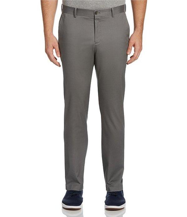 ペリーエリス レディース カジュアルパンツ ボトムス Slim-Fit Wrinkle-Resistant Water-Repellent Solid Stretch Chino Pants Smoked Pearl