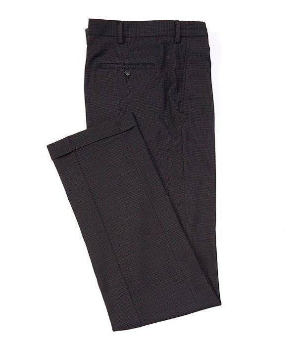 ラウンドトゥリーアンドヨーク レディース カジュアルパンツ ボトムス Big & Tall TravelSmart Fancy Pattern Pleated Dress Pants Black