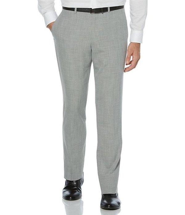 ペリーエリス レディース ワンピース トップス Slim-Fit Sharkskin Bi-Stretch Dress Pants Alloy