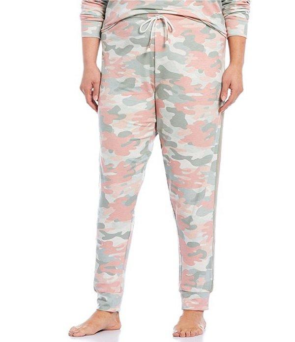 ピージェイサルベージ レディース ナイトウェア アンダーウェア Plus Camouflaged Printed French Terry Jogger Sleep Pants Oatmeal