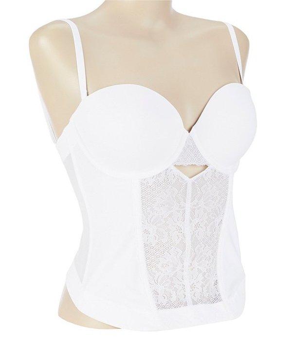 モダン ムーブメント レディース ブラジャー アンダーウェア Lace Bustier White