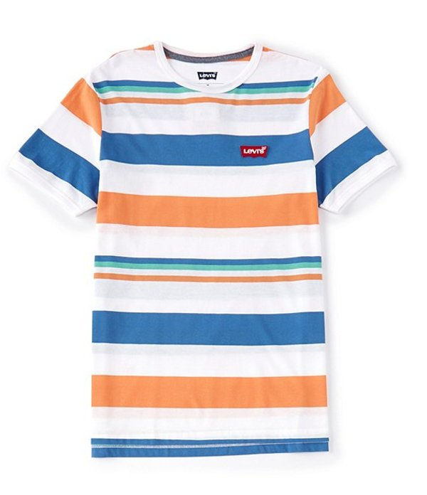 リーバイス レディース シャツ トップス Levi'sR Gracewood Horizontal Stripe Short-Sleeve T-Shirt Riverside