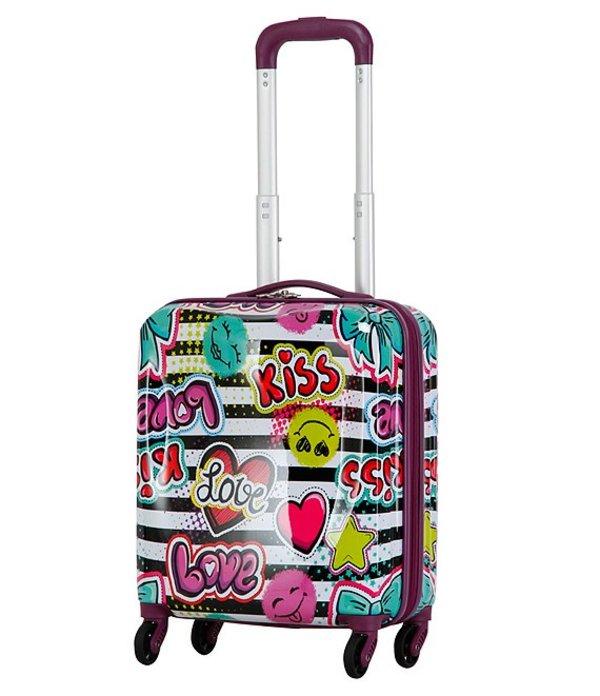 トリフォース レディース スーツケース バッグ Kid's Multi Art Carry-On Spinner Multi