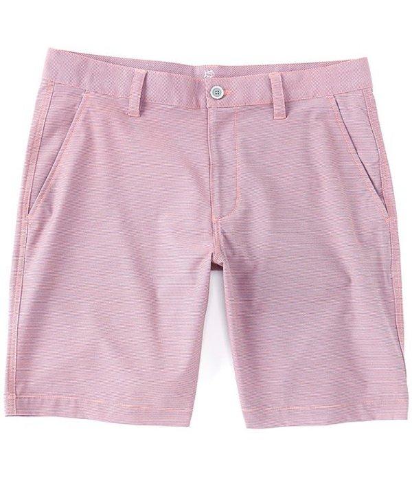 サウザーンタイド レディース ハーフパンツ・ショーツ ボトムス T3 Gulf Heather Stripe 9#double; Inseam Shorts Georgia Peach