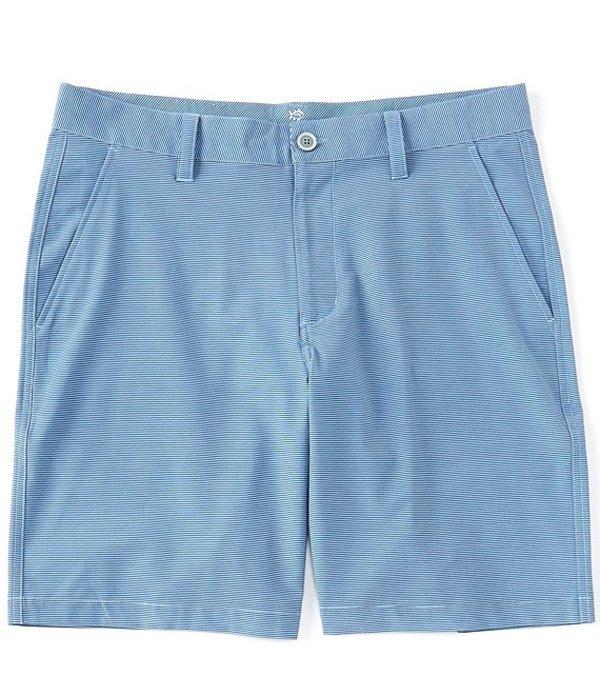 サウザーンタイド レディース ハーフパンツ・ショーツ ボトムス T3 Gulf Heather Stripe 9#double; Inseam Shorts Sky Blue
