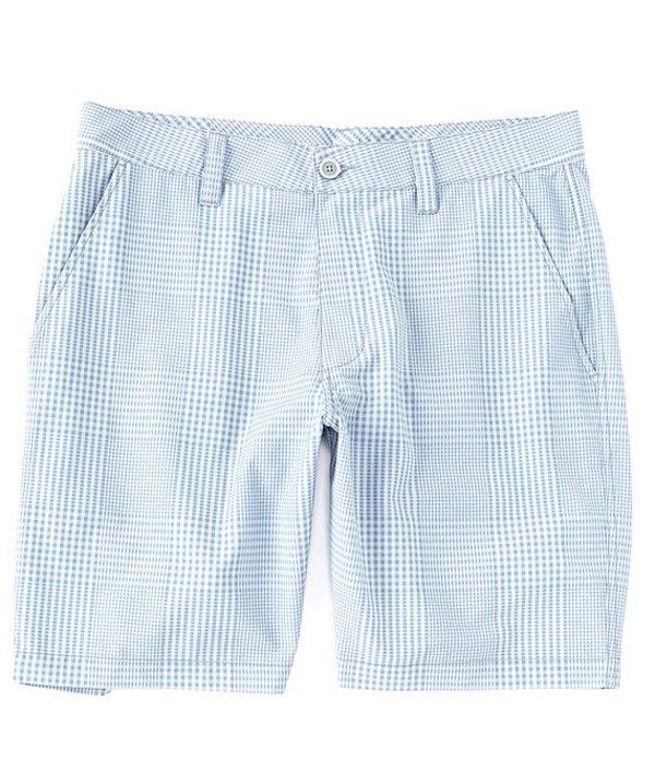 サウザーンタイド レディース ハーフパンツ・ショーツ ボトムス T3 Gulf Gingham Print Stretch 9#double; Inseam Shorts Whale Grey