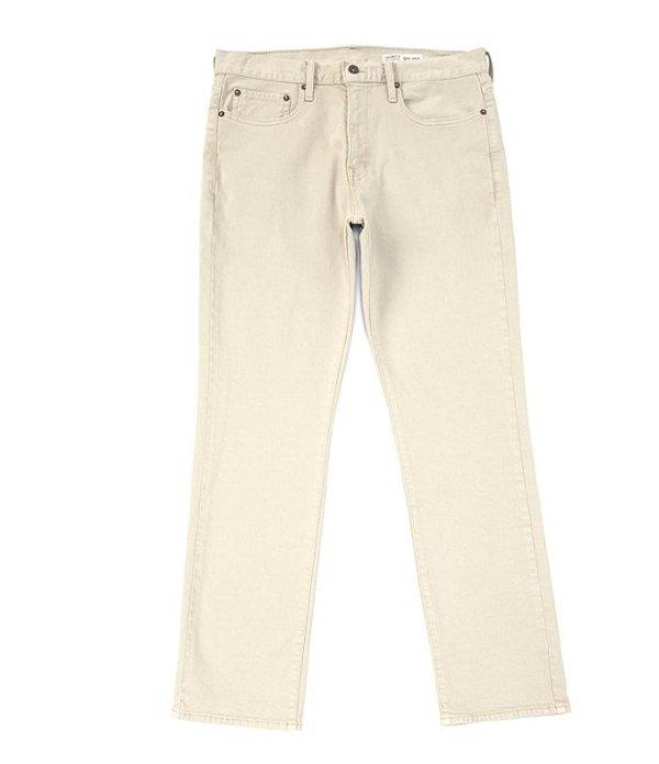 ダニエル クレミュ レディース デニムパンツ ボトムス Jeans Khaki Straight-Fit Stretch Denim Jeans Khaki