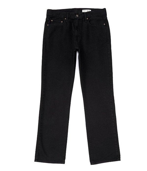 ダニエル クレミュ レディース デニムパンツ ボトムス Jeans Black Straight-Fit Stretch Denim Jeans Black