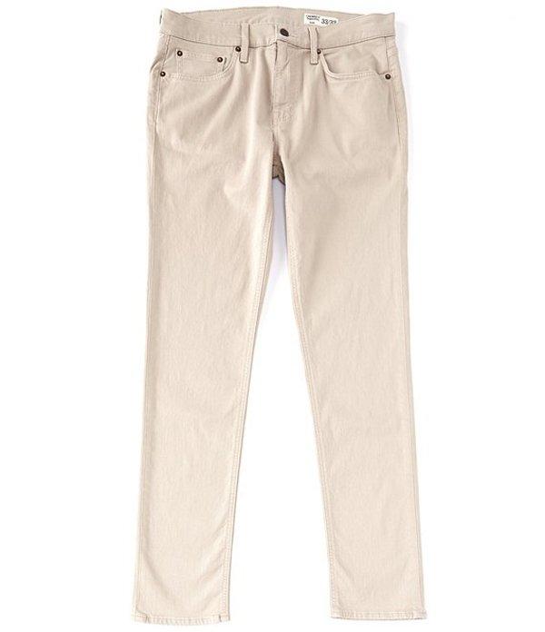 ダニエル クレミュ レディース デニムパンツ ボトムス Jeans Slim-Fit Light Khaki Stretch Denim Jeans Khaki