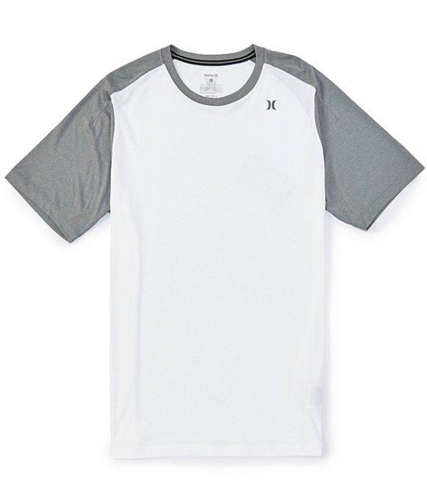 ハーレー レディース シャツ トップス Quick Dry NU Basics Short-Sleeve Raglan Rashguard White