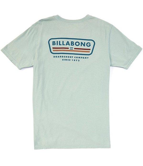ビラボン レディース シャツ トップス Short-Sleeve Badge T-Shirt Silver