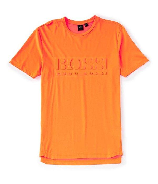 ヒューゴボス レディース シャツ トップス BOSS Tee 9 Short-Sleeve Tee Bright Orange