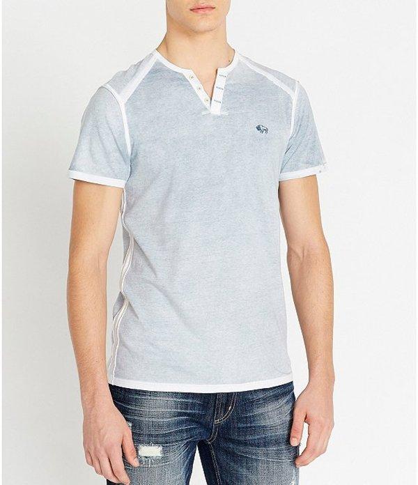 バッファロー・デイビッド・ビトン レディース シャツ トップス Karox Short-Sleeve T-Shirt Copen Blue