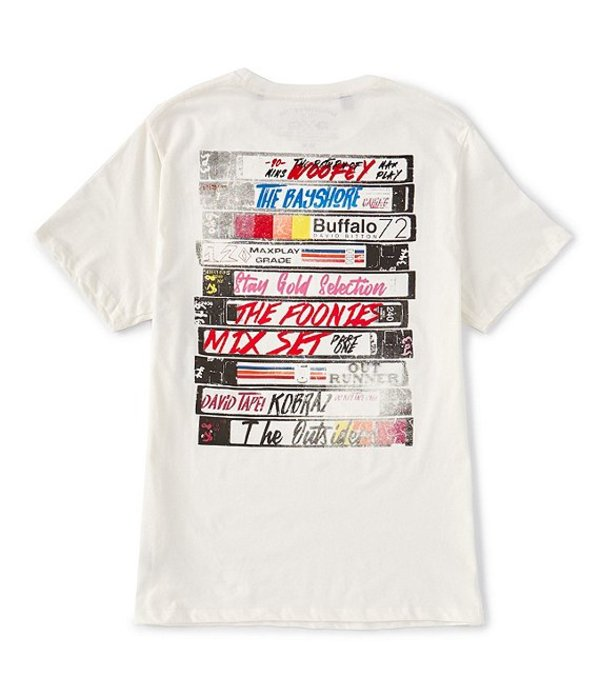 バッファロー・デイビッド・ビトン レディース シャツ トップス Tasider Short-Sleeve Graphic T-Shirt Pearl