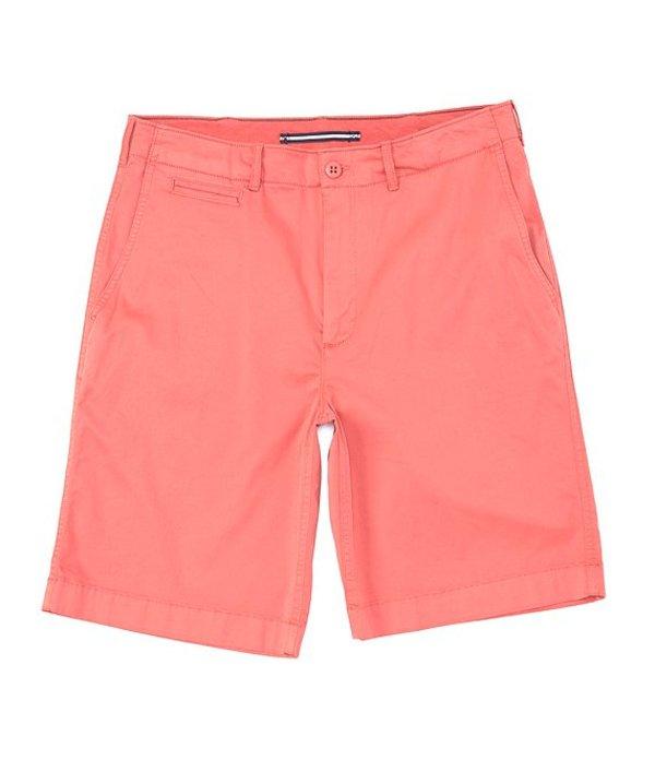 ダニエル クレミュ レディース ハーフパンツ・ショーツ ボトムス Cassis Flat-Front Garment-Dyed 10#double; Inseam Shorts Dusty Cherry