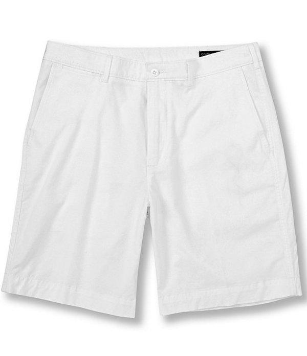 ダニエル クレミュ レディース ハーフパンツ・ショーツ ボトムス Madison Flat-Front Comfort Stretch 9#double; Inseam Shorts Whiteness