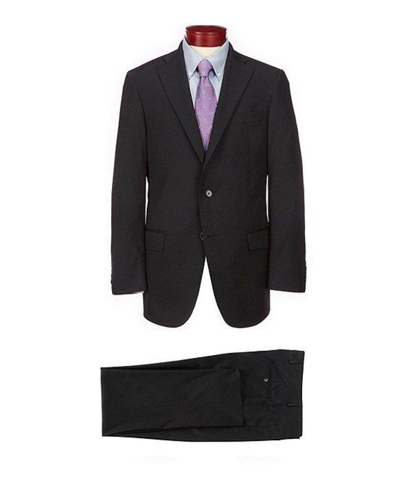 ハート シャフナー マルクス レディース ジャケット・ブルゾン アウター Chicago Classic Fit Solid Wool Blend Suit Black