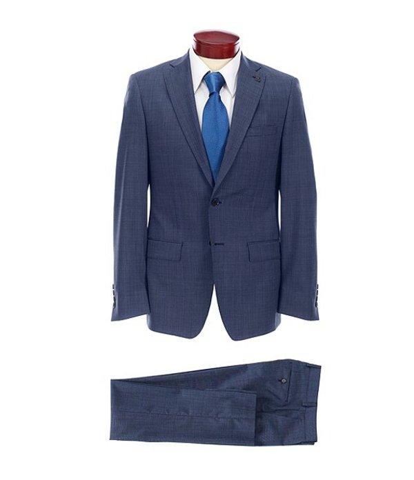 サイコバニー レディース ジャケット・ブルゾン アウター Slim Fit Fancy Wool Suit Blue