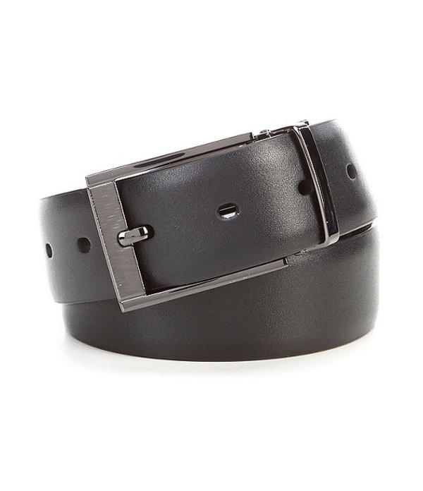 ムラノ レディース ワンピース トップス Laser Head Silver Reversible Leather Belt Black