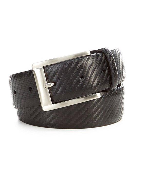 ムラノ レディース ワンピース トップス Carbon Fiber Pattern Dress Leather Belt Black