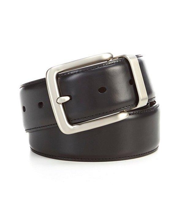 ダニエル クレミュ レディース ワンピース トップス Casual Clean Buckle Reversible Leather Belt Black