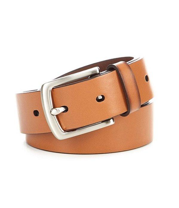 ラウンドトゥリーアンドヨーク レディース カジュアルパンツ ボトムス Basic Slim Cut Edge Casual Leather Belt Brown