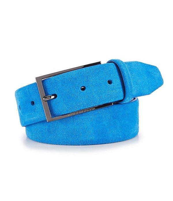ヒューゴボス レディース カジュアルパンツ ボトムス Calindo Blue Leather Belt Bright Blue