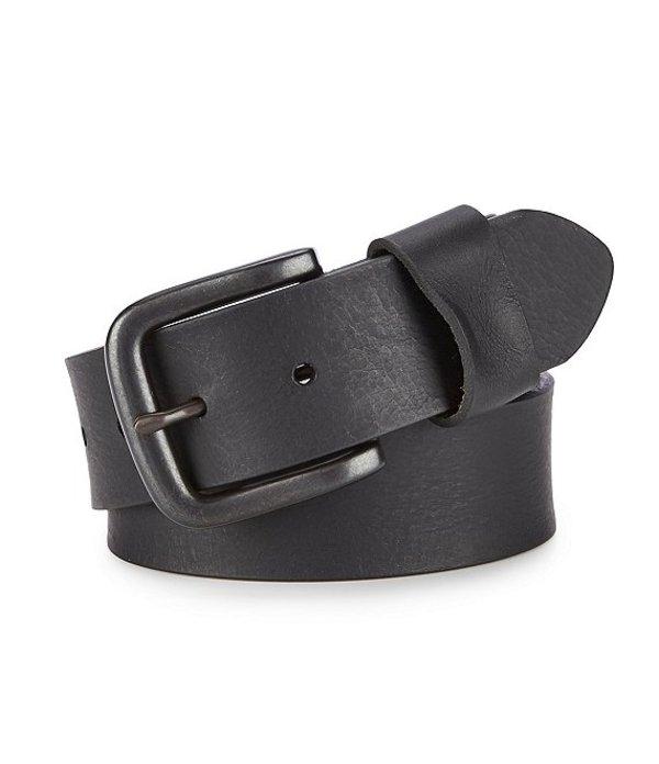 ダニエル クレミュ レディース カジュアルパンツ ボトムス Jeans Cut Edge with Wide Loop Leather Belt Black