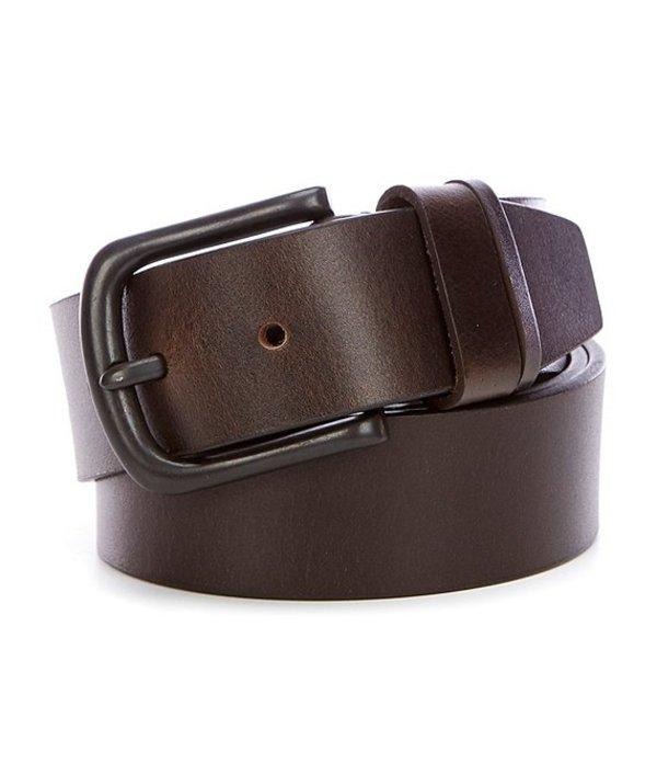 シルバー ジーンズ レディース カジュアルパンツ ボトムス Konrad Leather Belt Dark Brown