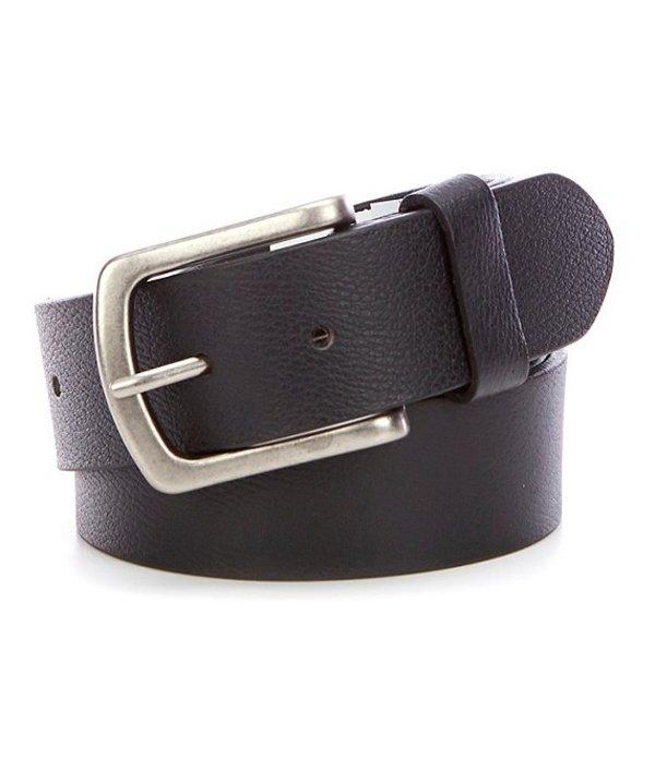 シルバー ジーンズ レディース カジュアルパンツ ボトムス Grayson Leather Belt Black
